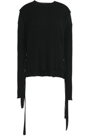 HELMUT LANG Ribbed wool sweater