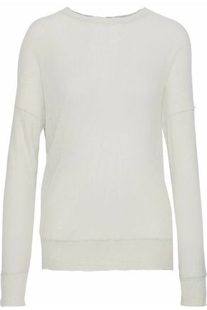 BY MALENE BIRGER Slub knitted sweater