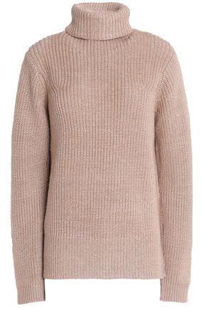 JOIE Ribbed wool-blend turtleneck sweater