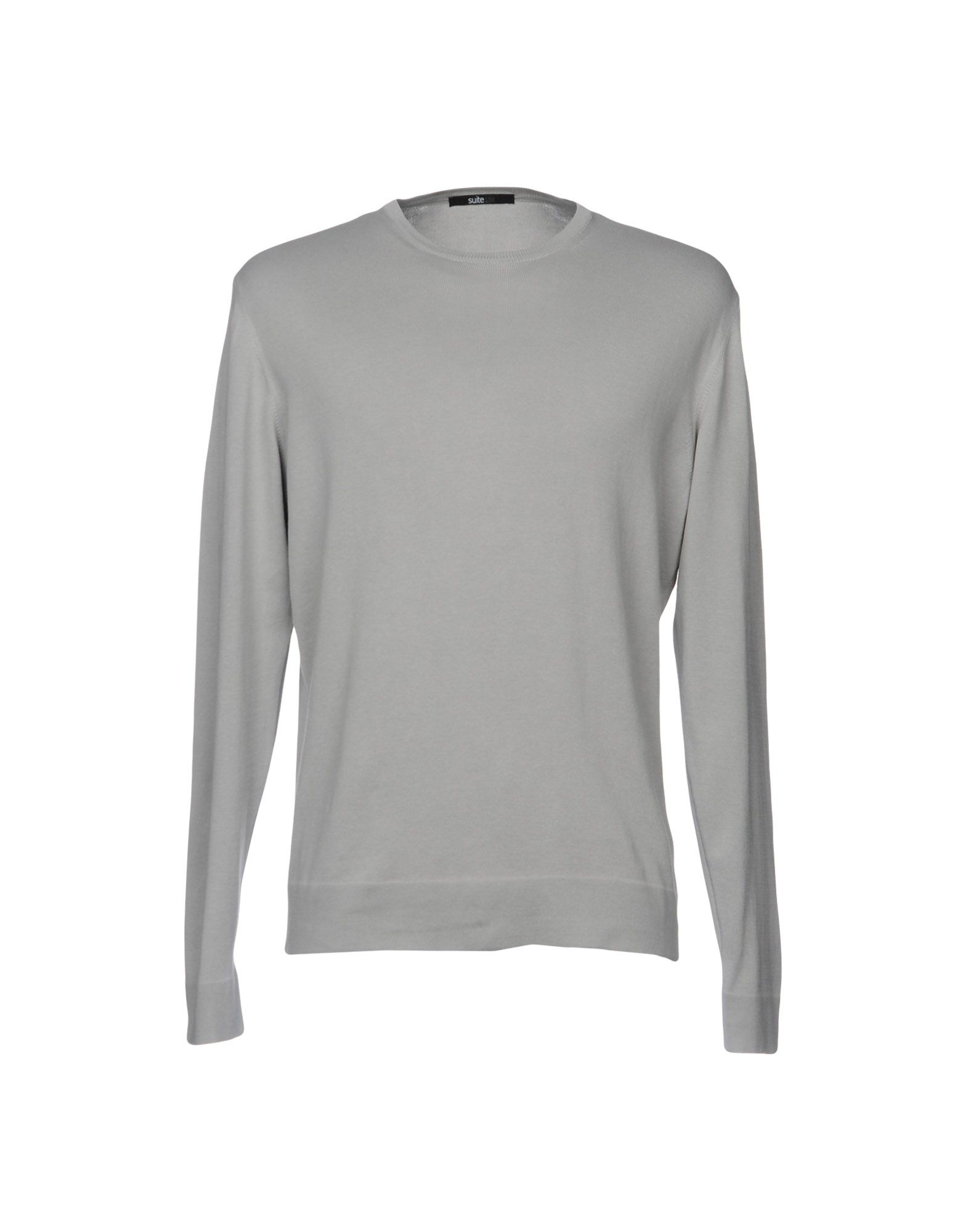 SUITE 19L Herren Pullover Farbe Grau Größe 5