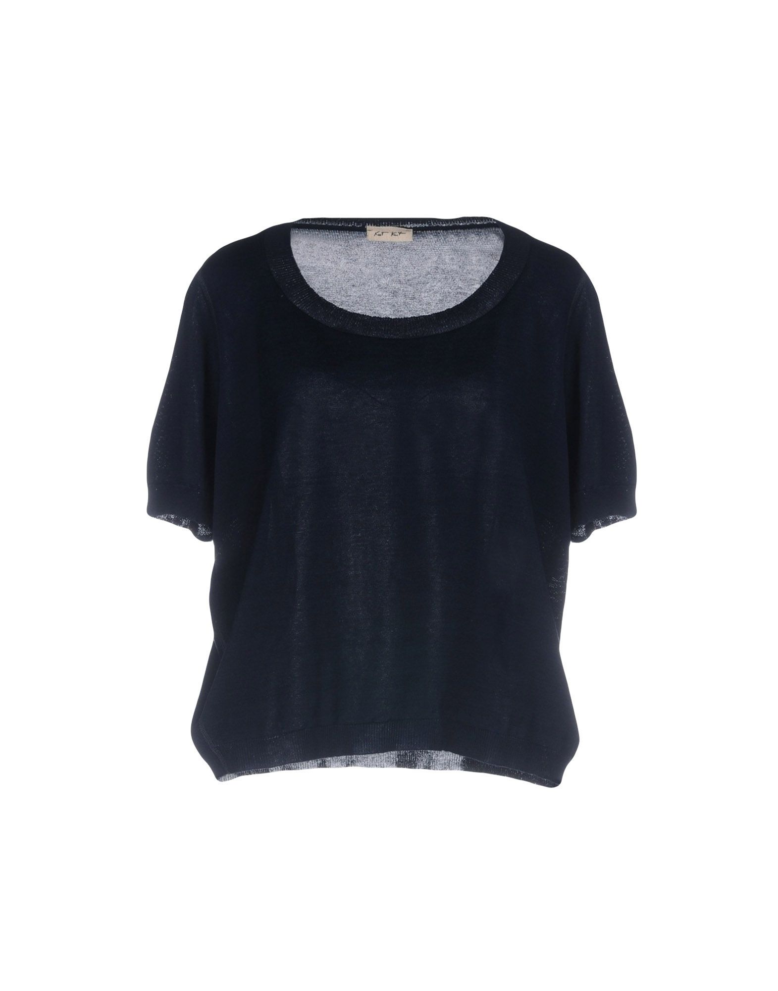 KNIT KNIT Свитер slim fitted rib knit tee