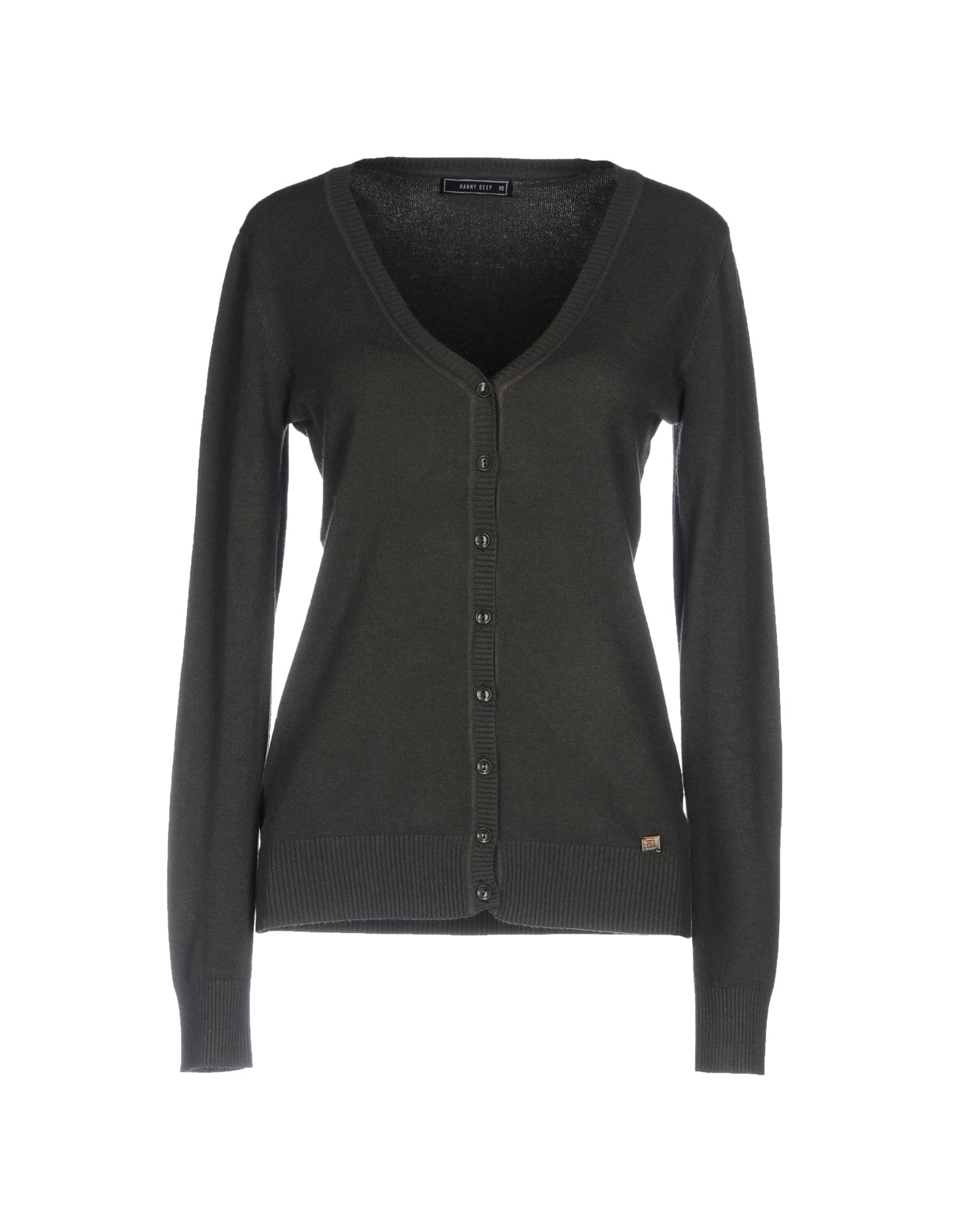 HANNY DEEP Кардиган deep v neckline surplice floral print bodysuit black