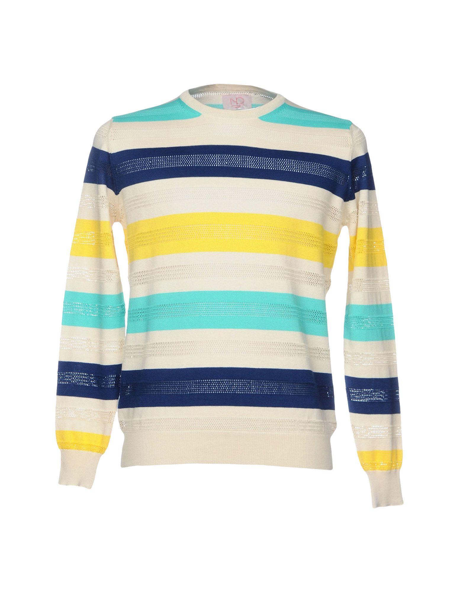 NŌ KNITWEAR Свитер crew neck color block pullover knitwear