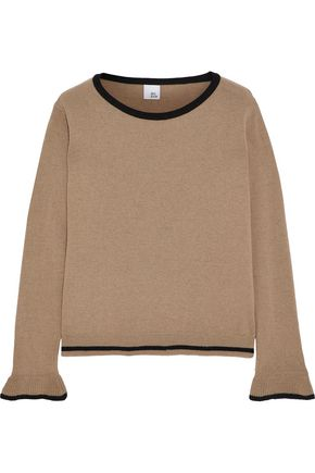 IRIS & INK Lea wool-blend sweater