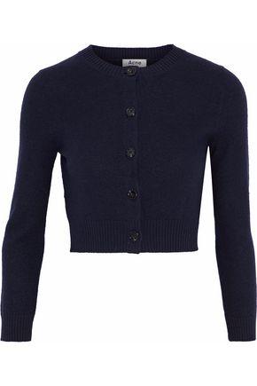 ACNE STUDIOS Cropped wool cardigan