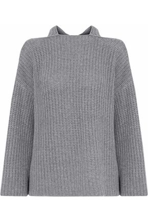 DEREK LAM 10 CROSBY Wool and cashmere-blend sweater