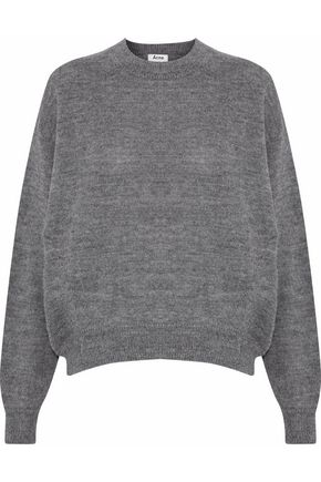 ACNE STUDIOS Jhira mélange alpaca and wool-blend sweater