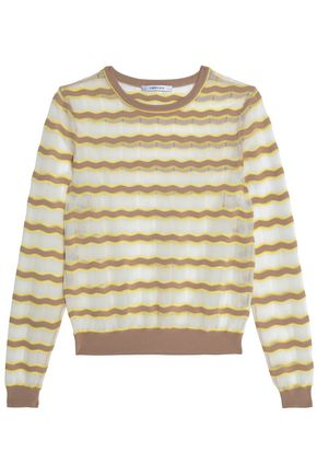 CARVEN Crochet-knit sweater