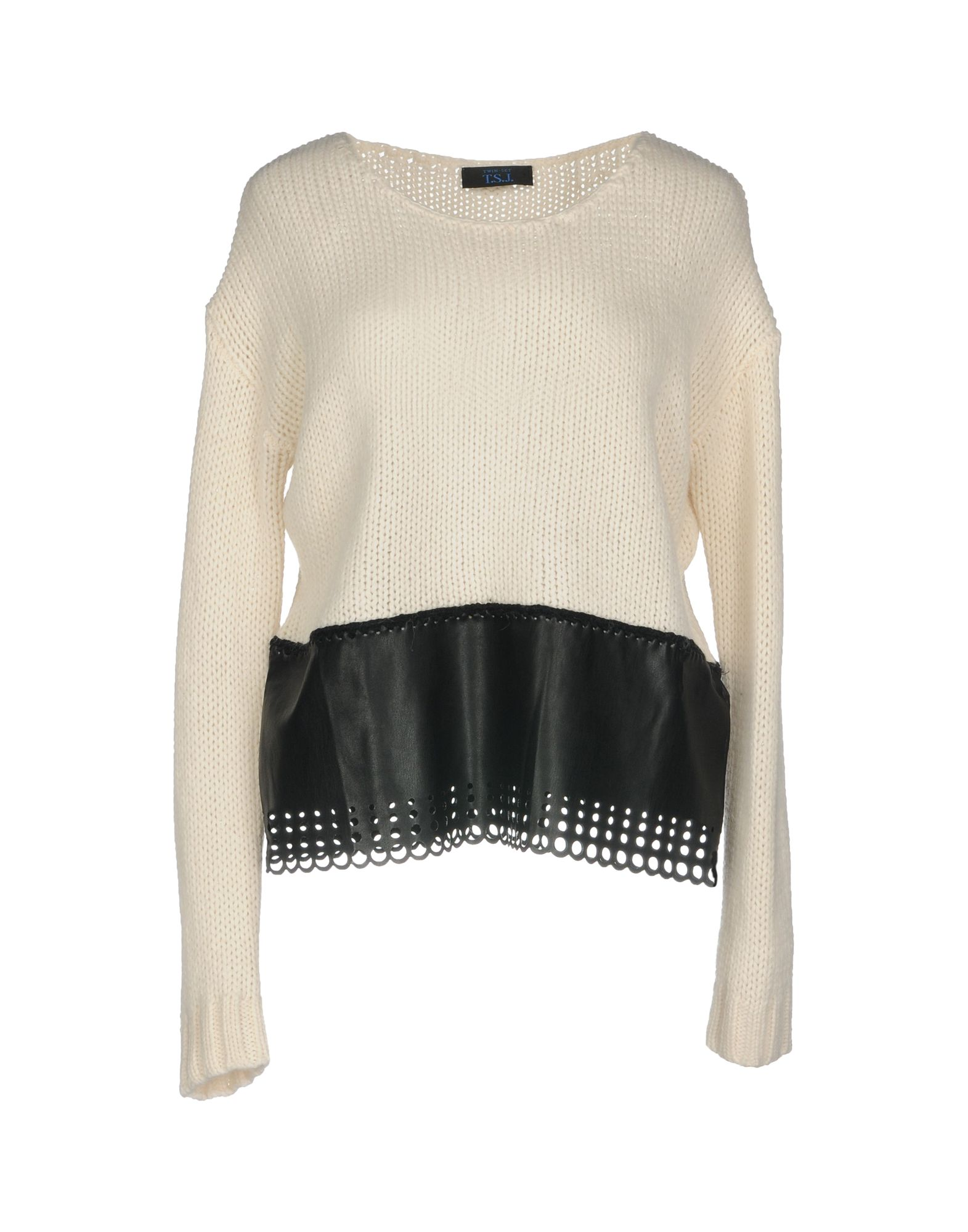 TWIN-SET JEANS Sweater in Ivory