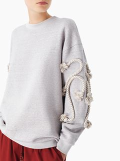Crafty fleece sweatshirt