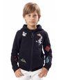 LANVIN Knitwear-Sweater Childrenswear Uomo FELPA CON CAPPUCCIO f