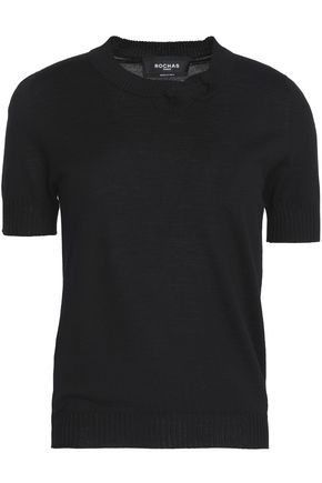 ROCHAS Virgin wool top