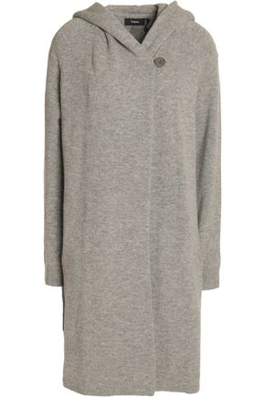 THEORY Wool and cashmere-blend cardigan