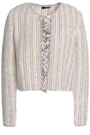 THEORY Cotton-blend bouclé-tweed jacket