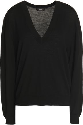 THEORY Merino wool sweater