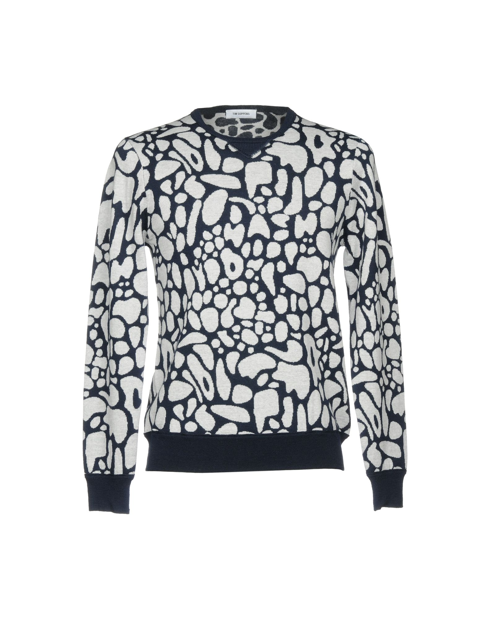 TIM COPPENS Sweater in Dark Blue