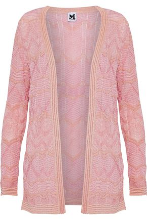 M MISSONI Metallic intarsia-knit cardigan