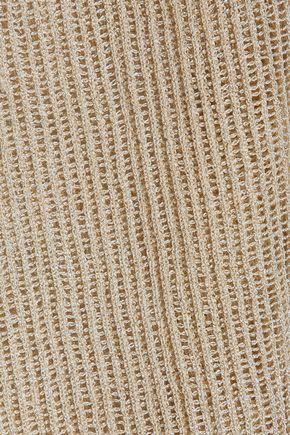 M MISSONI Metallic open-knit sweater