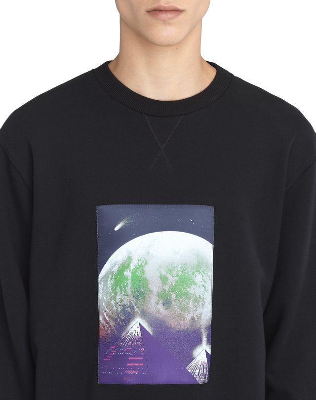 LANVIN EMBROIDERED SWEATSHIRT Knitwear & Sweaters U a