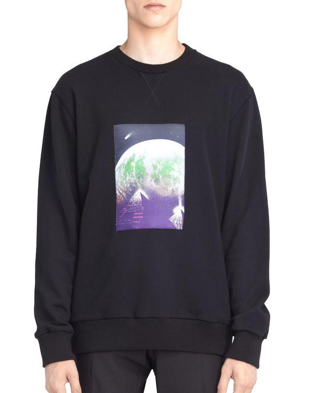 LANVIN EMBROIDERED SWEATSHIRT Knitwear & Sweaters U f