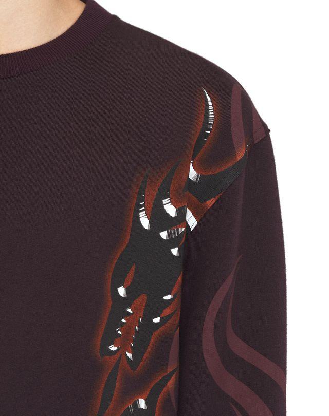 """LANVIN """"DRAGON TRIBAL"""" SWEATSHIRT Knitwear & Sweaters U a"""