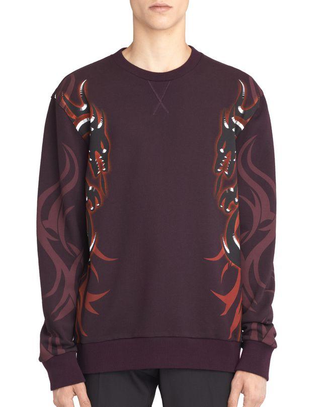 """LANVIN """"DRAGON TRIBAL"""" SWEATSHIRT Knitwear & Sweaters U f"""