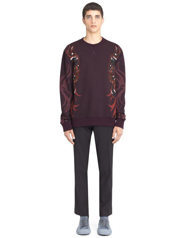 """LANVIN """"DRAGON TRIBAL"""" SWEATSHIRT Knitwear & Sweaters U r"""
