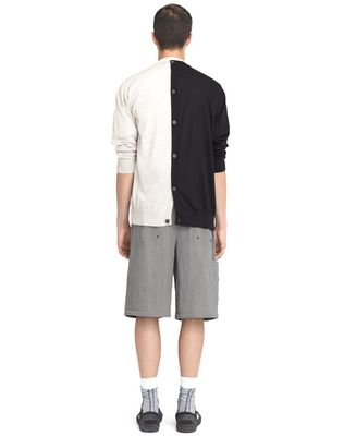 LANVIN Shirt U OVERSIZED LIGHT GRAY COLORED SHIRT F