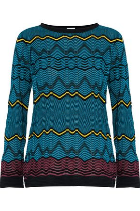 M MISSONI Intarsia-knit top