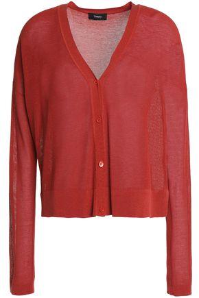 THEORY Cotton-blend cardigan