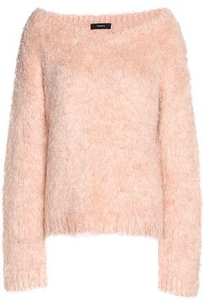 THEORY Brushed-silk sweater
