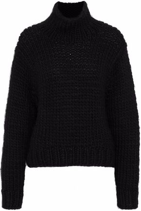 IRO Chunky-knit wool turtleneck sweater