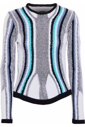 PETER PILOTTO Crochet-knit cotton sweater