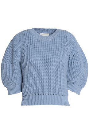 3.1 PHILLIP LIM Ribbed stretch-cotton sweater