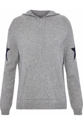 CHINTI AND PARKER Intarsia wool and cashmere-blend hooded sweater