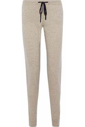 CHINTI AND PARKER Wool and cashmere-blend track pants