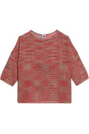 M MISSONI Metallic-knit sweater