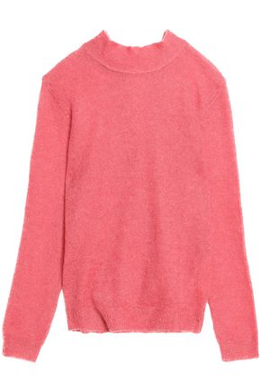 REDValentino Tie-back mohair-blend sweater