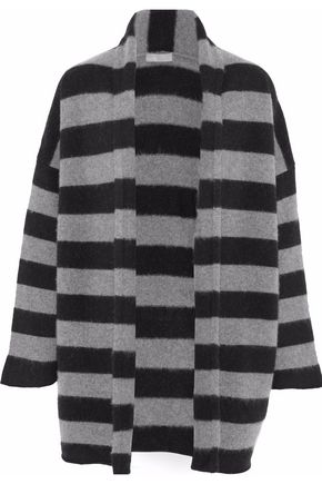 VINCE. Striped cashmere cardigan