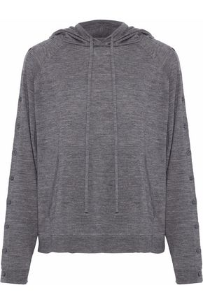 ROBERT RODRIGUEZ Hooded wool sweater