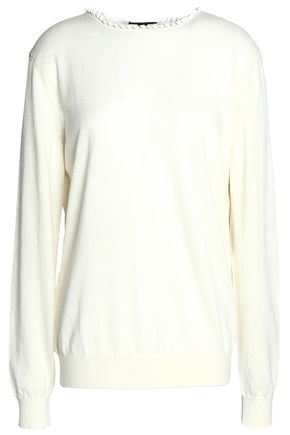 NINA RICCI Tie-back wool-blend sweater