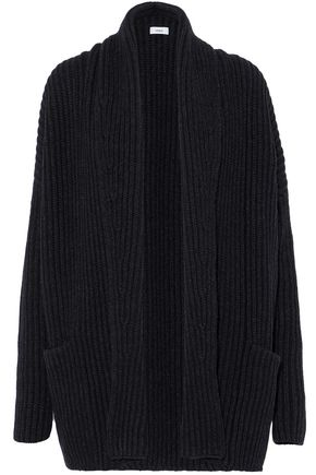 VINCE. Ribbed wool-blend cardigan