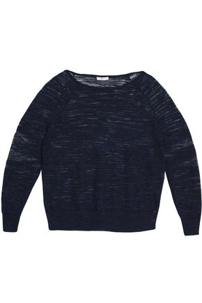 JOIE Mélange knitted linen sweater