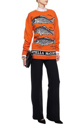 STELLA McCARTNEY Intarsia-knit wool sweater