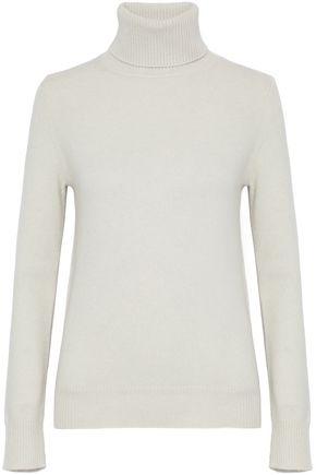 CHLOÉ Ribbed cashmere turtleneck sweater