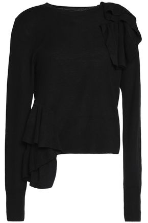 MM6 MAISON MARGIELA Ruffled knitted sweater