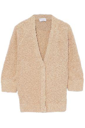 BRUNELLO CUCINELLI Fringed cotton-blend cardigan