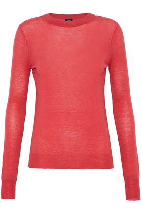 WOMAN CASHMERE SWEATER RED