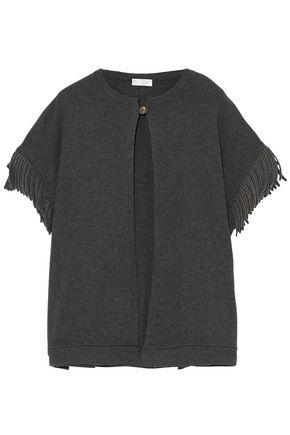 BRUNELLO CUCINELLI Fringe-trimmed cashmere cardigan