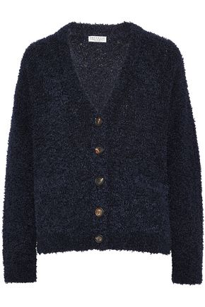 BRUNELLO CUCINELLI Textured cotton-blend cardigan